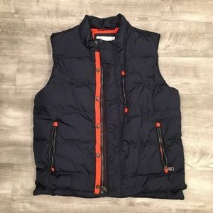 Orvis Navy Puffer Down Men's Vest Medium